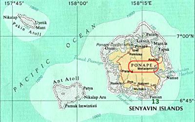 La isla magica de POHNPEI y la ciudad secreta de NAM MADOL