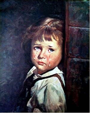 La maldición de los cuadros de los Niños Llorones