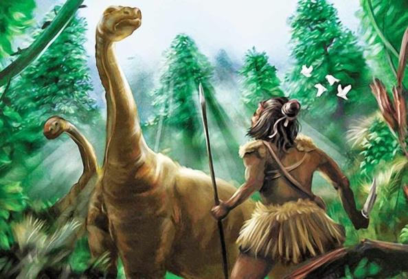 Los Dinosaurios que sobrevivieron a la extinción y vivieron con humanos