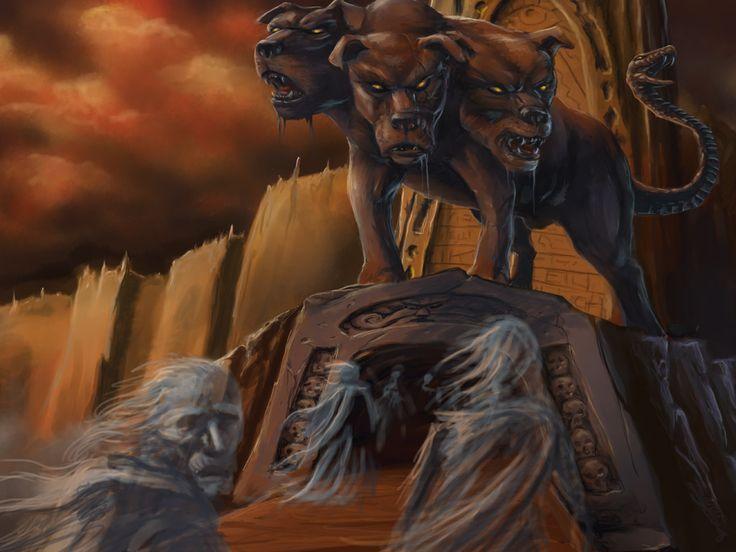 Los nueve circulos del infierno