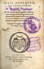 OVNIS EN TIEMPOS DE LOS ROMANOS. El libro de los prodigios