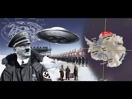 Ovnis nazis y el centro de la tierra