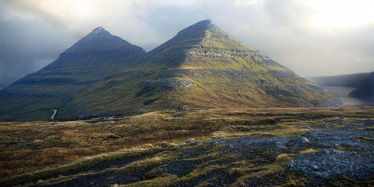 Pirámides en Islas Faroe?