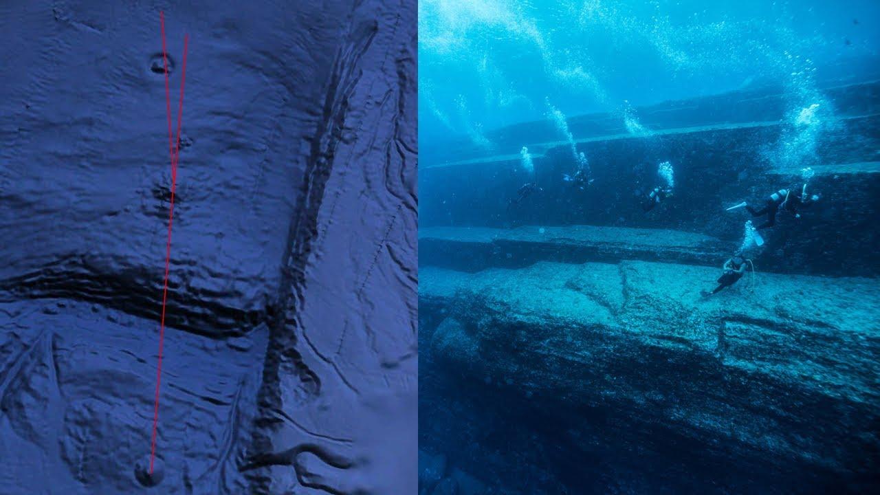 Pirámides submarinas que apuntan a Orión