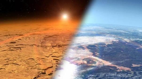 Una magnetosfera artificial devolvería la atmósfera al Planeta rojo, lo que facilitaría el establecimiento de futuras colonias humanas