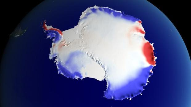 Una roca en la Antártida evita que el mundo se acabe