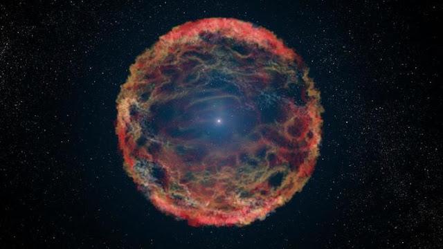 Una supernova pudo llevar a los humanos a caminar sobre dos piernas