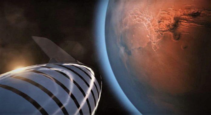 Naves extraterrestres en el planeta Marte invisibles al ojo humano