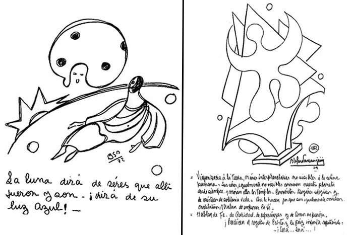 Profecías de Parravicini: 4 hitos históricos y contactos con alienígenas