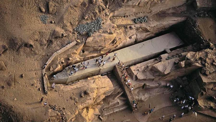 ¿Usaron los Egipcios Tecnología antigravitatoria?