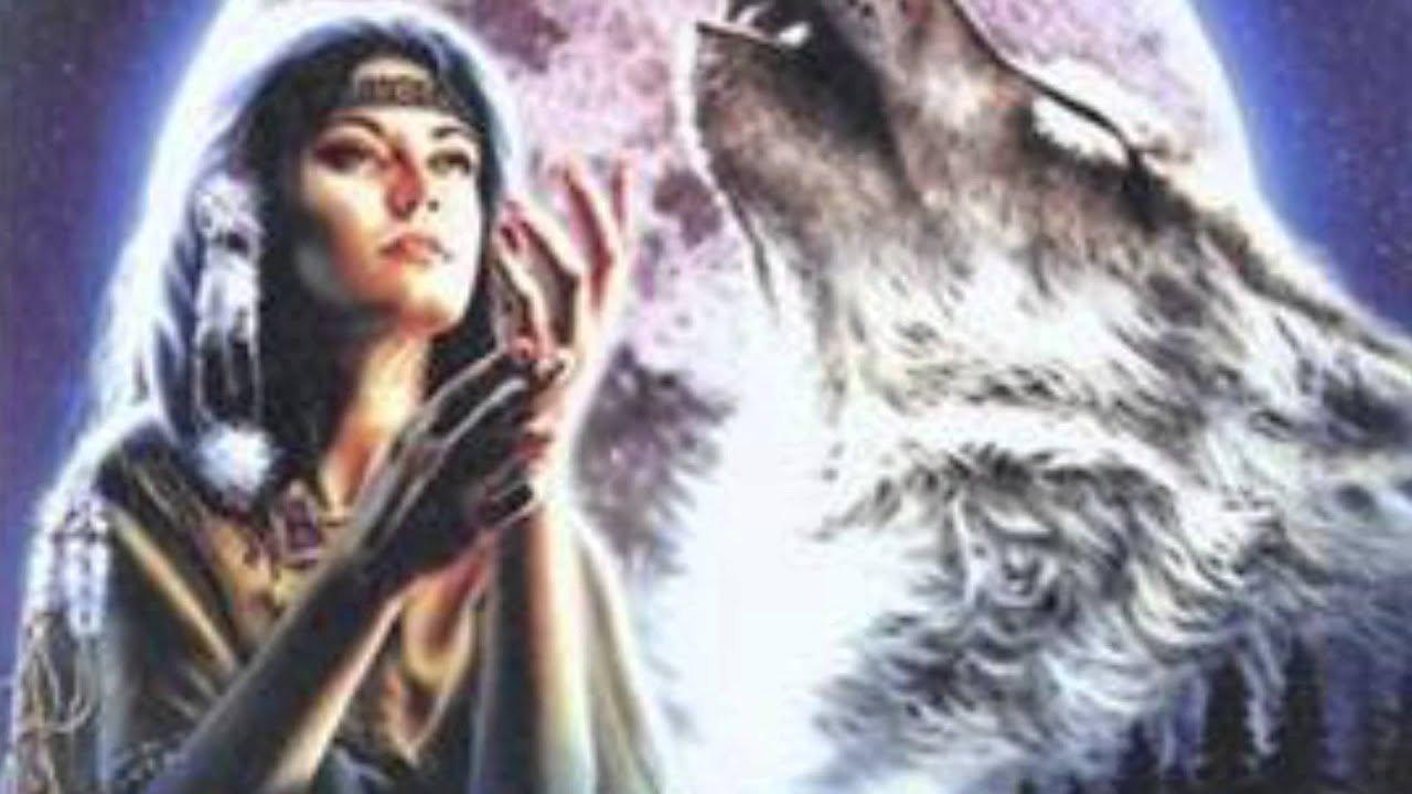 La leyenda de la luna inquietante y el lobo salvaje.