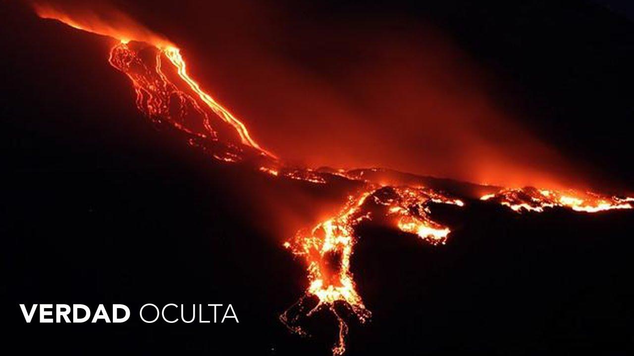 Alerta Activación de Súper Volcán ETNA y UBINAS