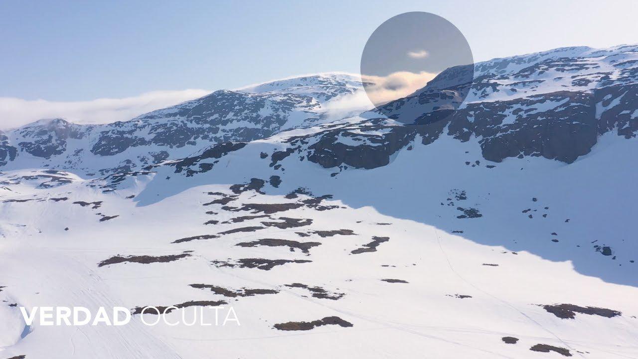 Algo inexplicable se eleva sobre las montañas de Suecia