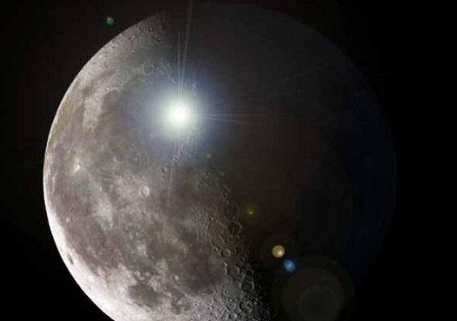Registra misteriosos «destellos de luz» en la LUNA.¿Son estas señales extraterrestres?