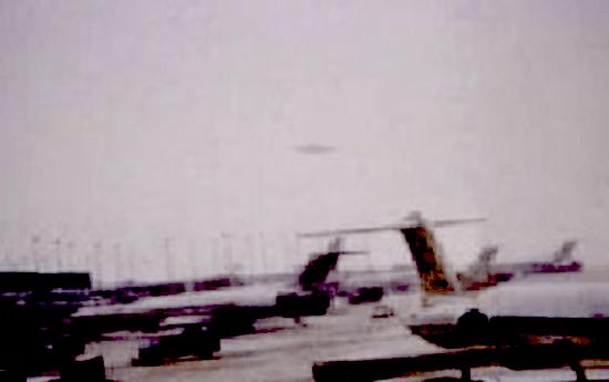 El Ovni del aeropuerto de Chicago, EE.UU.