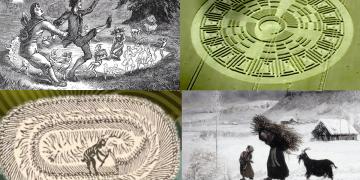 Círculos de cultivos: desde los juicios de brujas hasta el diablo, los anillos de hadas y los extraterrestres.