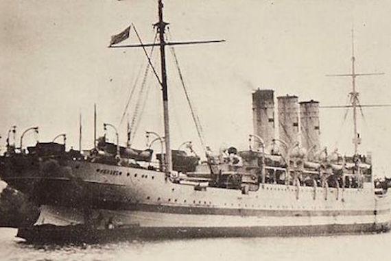 El extraño cuento de un barco fantasma ruso maldito