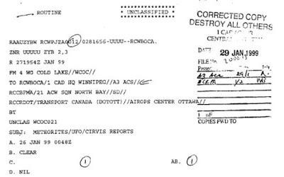 El sistema de información OVNI de alta prioridad de los militares de EE.UU.