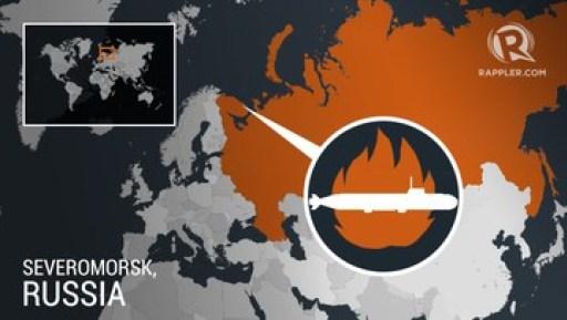 Esta mañana, otras fuentes están diciendo algo extraño sobre el submarino ruso que se quemó, matando a 14 marineros.