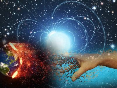 La estrella de neutrones que puede convertir la Tierra en polvo.