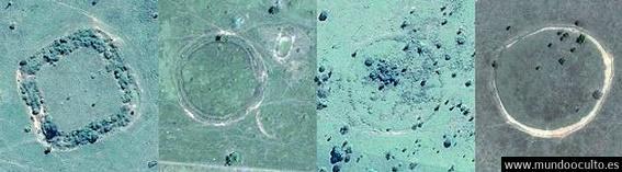 Las misteriosas formas geométricas del Amazonas.