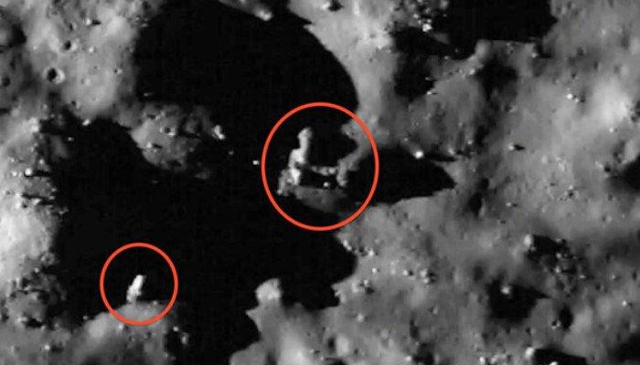 Los extraterrestres pudieron haber habitado en lado oculto de la luna