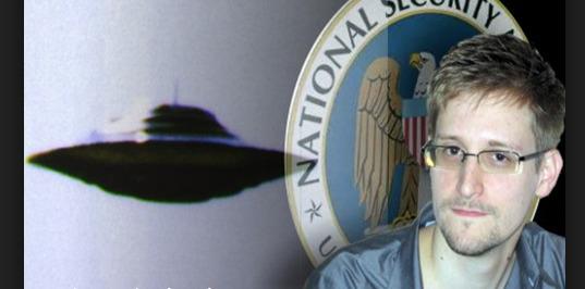 Los últimos documentos filtrados por Edward Snowden muestran imágenesde ovnis