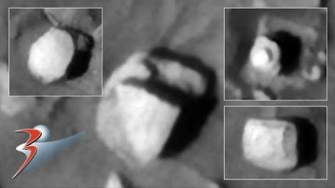 Marte, la sonda MRO fotografía una enorme