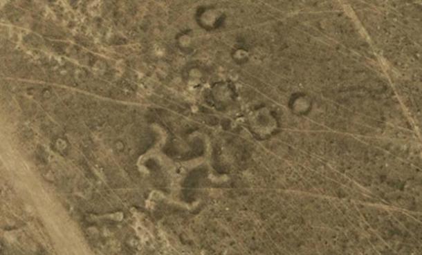 Más de 50 geoglifos antiguos, incluyendo la esvástica, descubiertos en Kazajstán