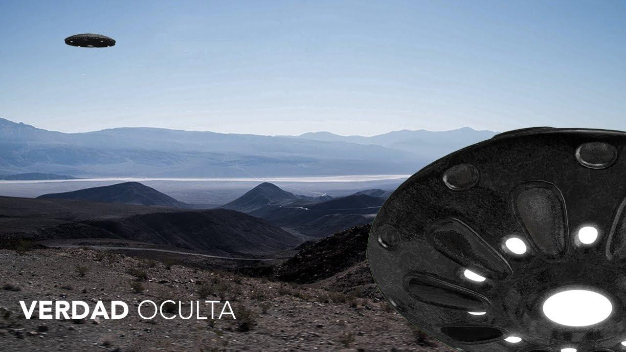 OVNI metálico grabado en ÁREA 51 una NOTICIA FALSA