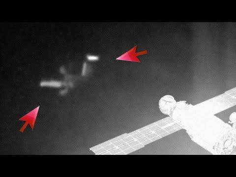 Teórico de los extraterrestres cree que ovnis vistos en la ISS están verificando el avance de los humanos en el espacio