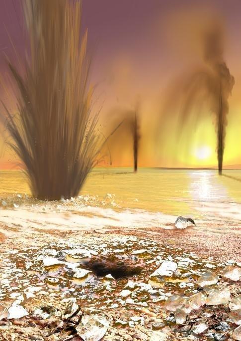¿Esas cosas negras en el suelo de Marte son peligrosas?