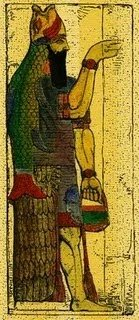 "Mitología mesopotámica. ""Los siete apkallu de Enki"""