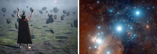 Antiguo mapa estelar Inca indicaría el camino a la casa en donde vive el dios Viracocha
