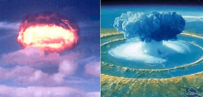 Bomba atómica que EE.UU detonó en el espacio, alteró el campo magnético de la tierra