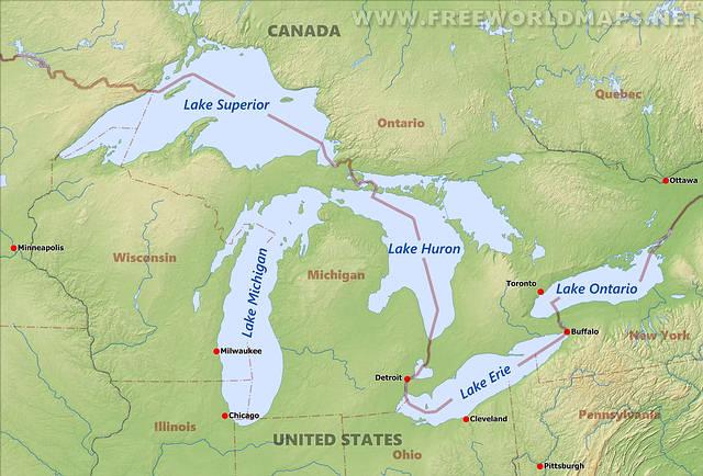 Canadá: Vuelo comercial evita colisión con un ovni sobre el Lago Ontario