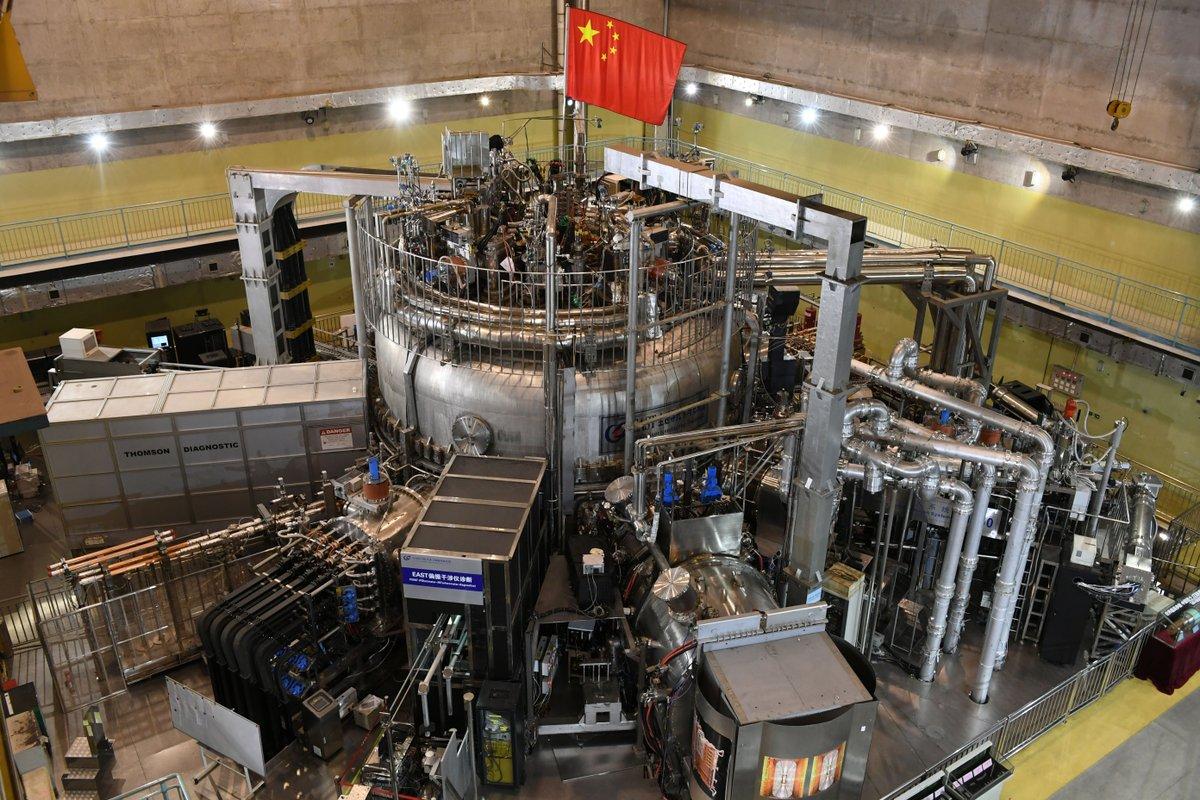 China logra gran avance en fusión nuclear