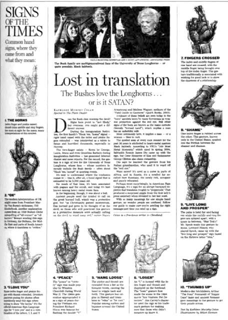 Codex Mágica VII: El Significado De La Mano Cornuda o La Señal De