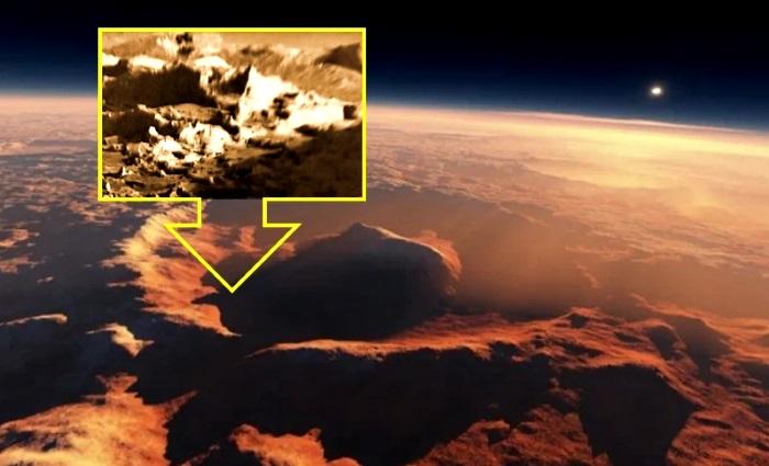 Curiosity fotografía una «Ciudad Alien» en el Cráter Gale