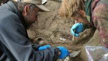 Descubren en Alaska restos fósiles de dos niños de la Edad de Hielo