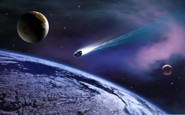 Huellas de un meteorito que se derrumbó en el Atlántico hace 35 millones de años.