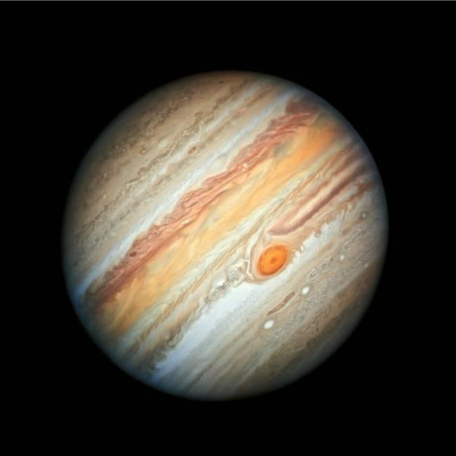 Júpiter pudo haberse tragado otro planeta gigante en los inicios del sistema solar