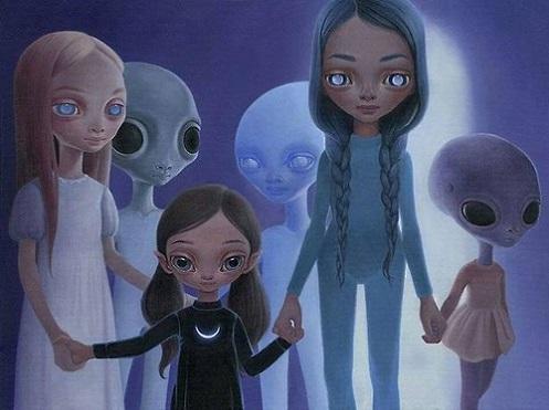 Los humanos y los extraterrestres híbridos reciben actualizaciones de ADN directamente de las razas