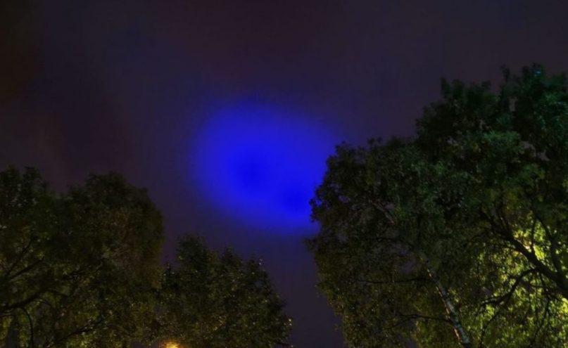 Misteriosa «luz azul» aparece en los cielos de Inglaterra