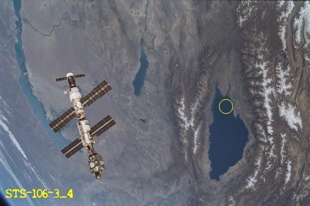 NASA graba OVNI sumergiéndose en lago Issyk-Kul (Kirguistán)