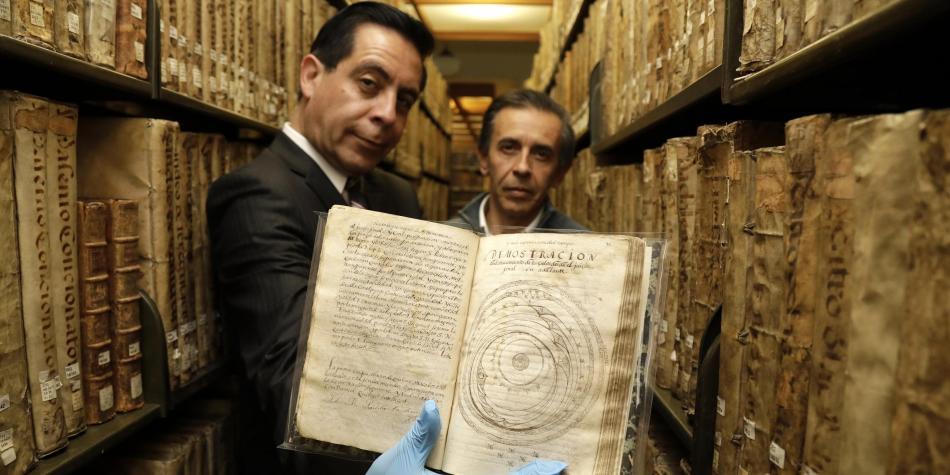 EL MANUSCRITO QUE REESCRIBE LA HISTORIA DE LA CIENCIA EN COLOMBIA