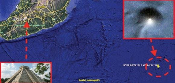 ¿ENCONTRARON ATLANTIS? Una Pirámide de 4 kilómetros de ancho descubierta en el fondo del océano