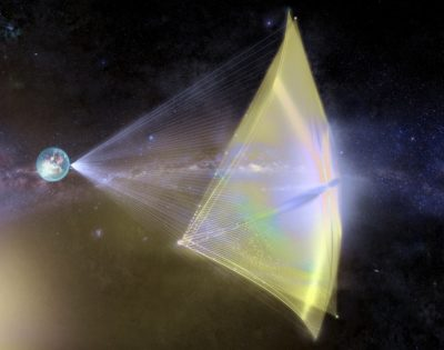 La nave que viaja a 1/5 de la velocidad de la luz y se autorepara #alfacentauri
