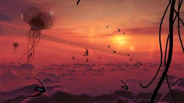 Criaturas atmosféricas, el 'otro tipo' de vida extraterrestre
