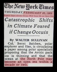 El cambio climático ha sido una táctica de miedo de rutina desde la década de 1930